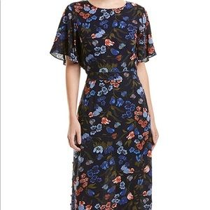 Lucca Couture Arielle midi dress BNWT